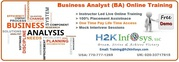 BA Online Training Classes by H2KInfosys